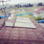 ソーラーパネル,解体工事